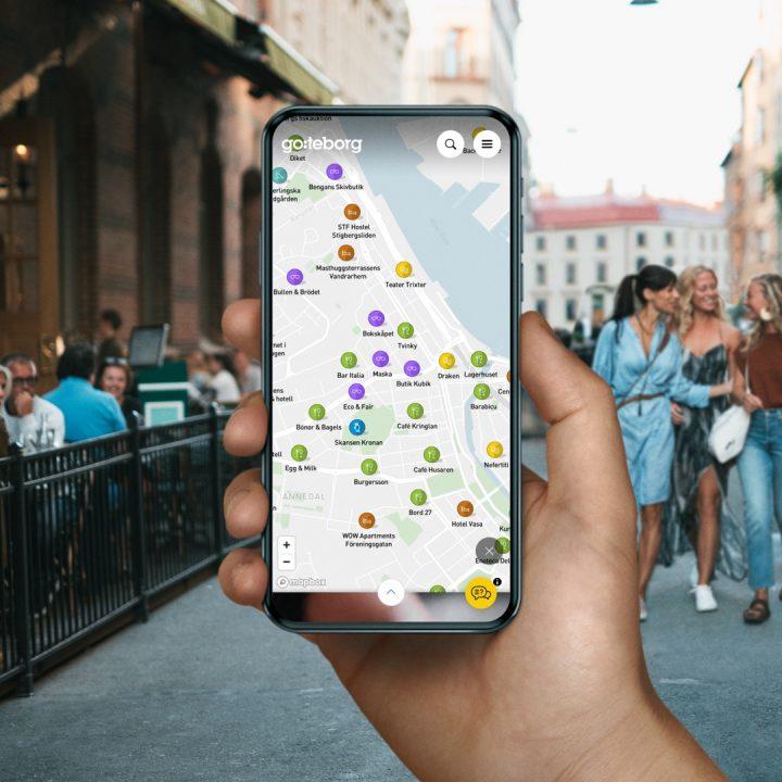 Karta i mobiltelefon